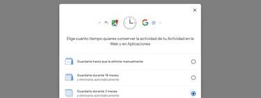 Cómo configurar tu cuenta Google para que se autodestruyan los datos que guarda sobre ti