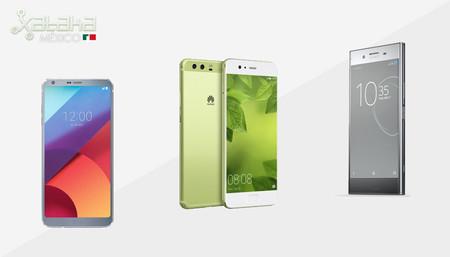 LG G6, Huawei P10 y Xperia XZ Premium, empieza la lucha en la gama alta 2017