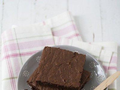 Receta de brownie de chocolate y leche condensada