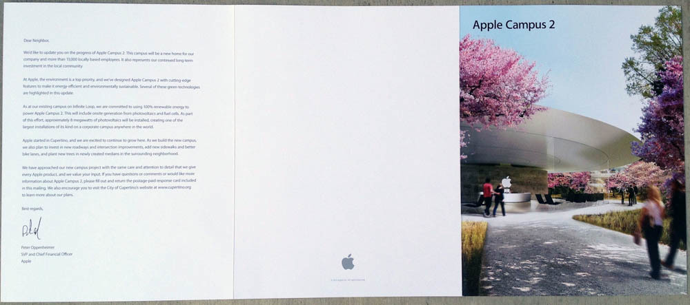 Apple Campus 2 feedback