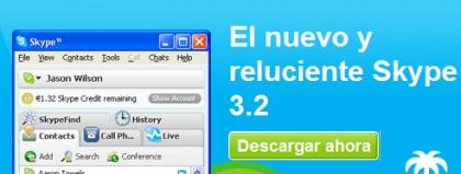 Skype 3.2. para Windows