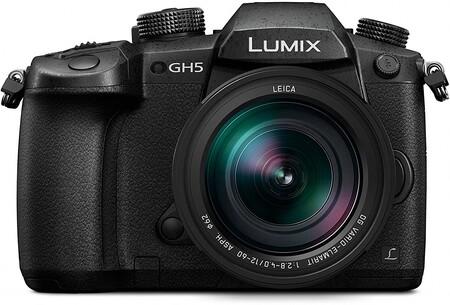 """Panasonic Lumix DC-GH5L - Cámara EVIL de 20.3 MP, Pantalla de 3.2"""", Visor OLED, Estabilizador Dual I.S. 2 5 Ejes, 4K, Wi-Fi, Bluetooth, Kit con Objetivo Panasonic LEICA 12 - 60 mm/F2.8-F4"""
