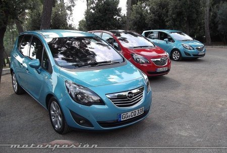 Opel Meriva CDTI, presentación y prueba en Niza (parte 1)