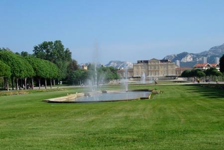 El Parque Borély en Marsella
