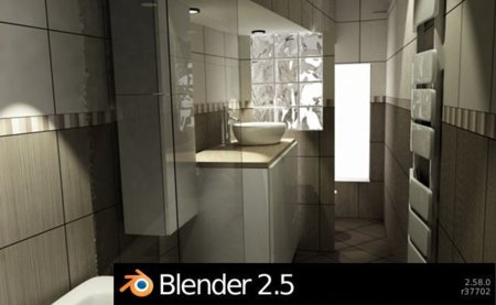 Blender 2.58, la segunda versión estable de la serie 2.5, liberada