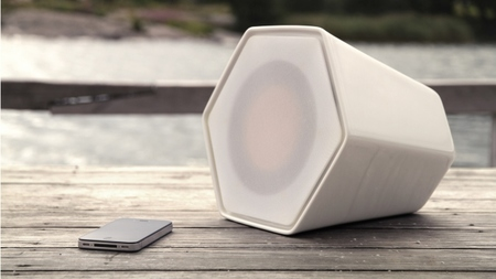 Unmonday 4.3L, el altavoz independiente de forma hexagonal