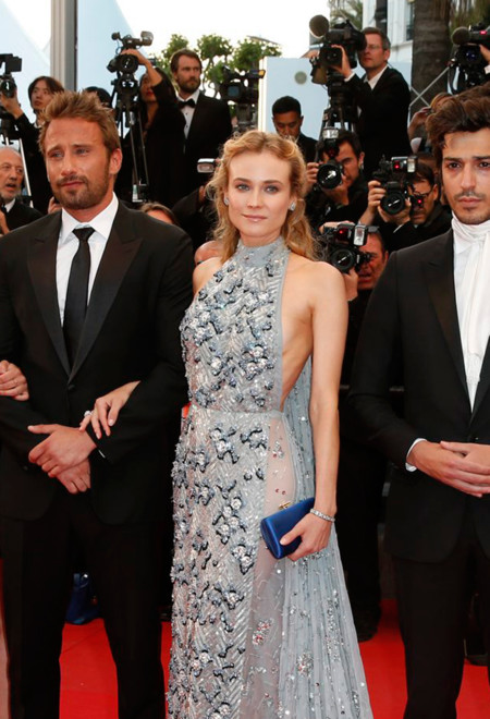 La reina Diane Kruger se hace con la alfombra roja de Cannes