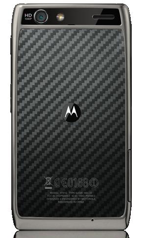 Motorola RAZR Maxx parte trasera