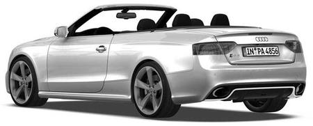 El Audi RS 5 Cabrio en directo