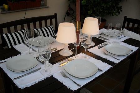 mesa cena verano