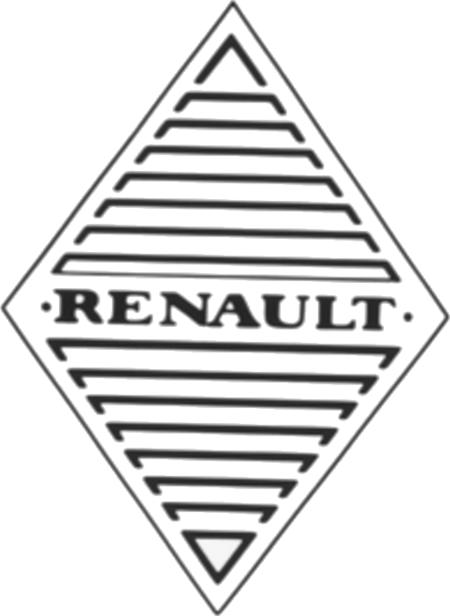 Logos de coches - Renault -1925 1946
