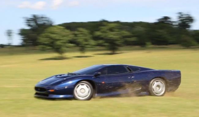 Tax The Rich Jaguar XJ220