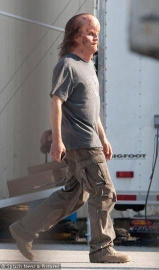 'Green Lantern', primera foto de Peter Sarsgaard como el Dr. Hammond