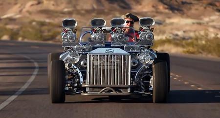 El Ford Model T de los dos motores V8