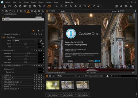 Llega Capture One Pro 9 y estas son sus principales novedades