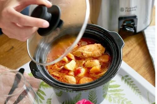 Mejores ofertas en ollas de cocción lenta de marcas como Crock-Pot, Russell Hobbs o Cecotec en Amazon