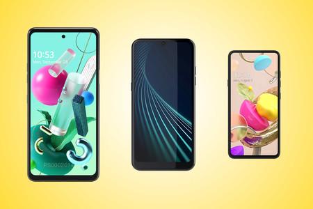 Tres móviles de LG, filtrados por la Consola de Google Play: LG Q92, LG K42 y LG K22