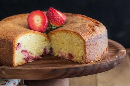 Sanvalentin Cake Fresas Nata Dap