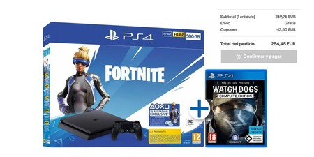 Ps4 Slim Fornite Watchdogs