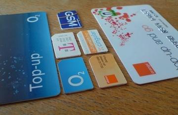 tarjetas de telefonía