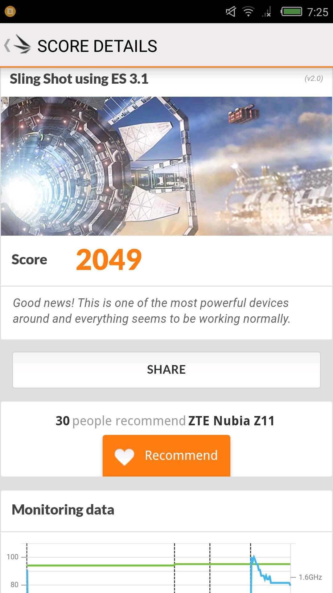 Foto de Nubia Z11, benchmarks (27/31)
