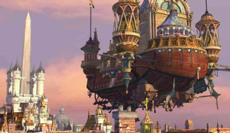 Final Fantasy Ix Airships