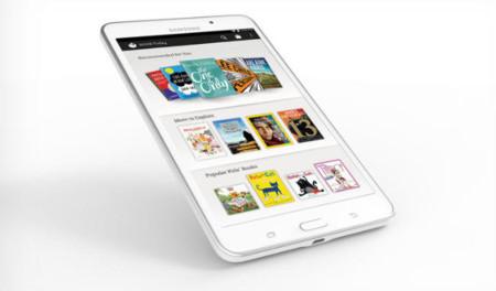 Llega el Samsung Galaxy Tab 4 Nook, el intento de Barnes & Noble por volver a la relevancia
