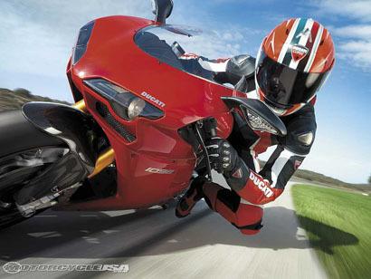 Ducati 1098, prueba en Eastern Creek