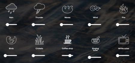 A soft murmur: sonidos para concentrarte directamente desde el navegador