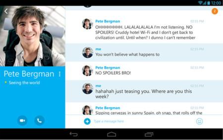 Skype 4.4 para Android