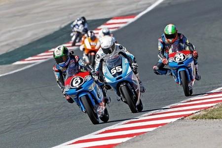 CEV Repsol 2013: Syahrin y Mariñelarena en Moto2, Forés en Stock Extreme y Herrera en Moto3 vencen en Navarra