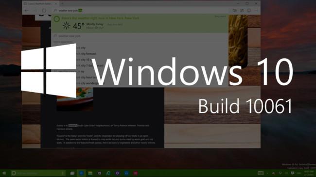 Windows 10 10061 Large