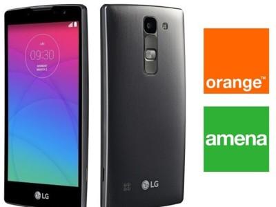 Precios LG Spirit 4G con Orange y Amena