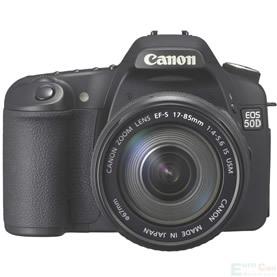Canon EOS 50D, casi lista