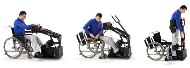 Tek RMD, una plataforma de movilidad que deja obsoleta a la silla de ruedas