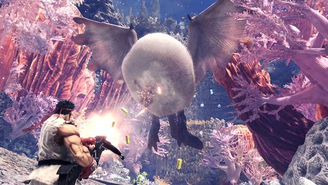 Ryu Monster Hunter World