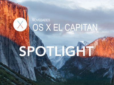 OS X El Capitan: Así es Spotlight