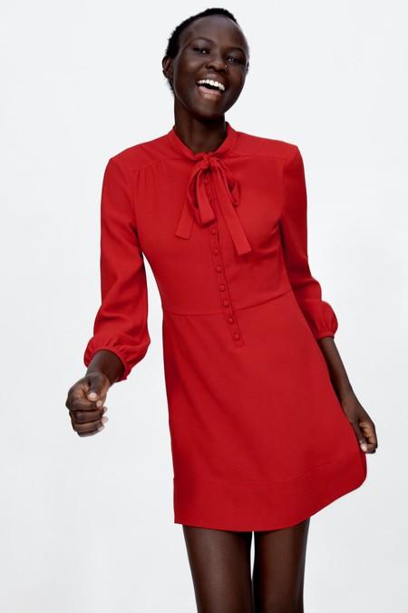 Vestido 60s Rojo