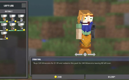 Minecraft recibe su propio editor de personajes en la beta de Xbox One, Windows 10 y Android