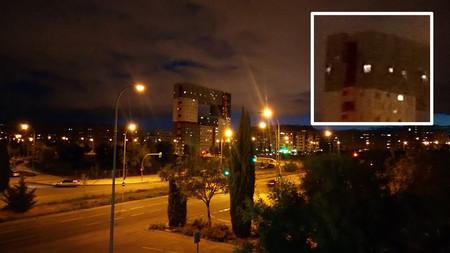 Sony Xperia L2 Foto Noche