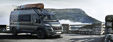 Peugeot Boxer 4x4 Concept, el camper definitivo para los millenials aventureros