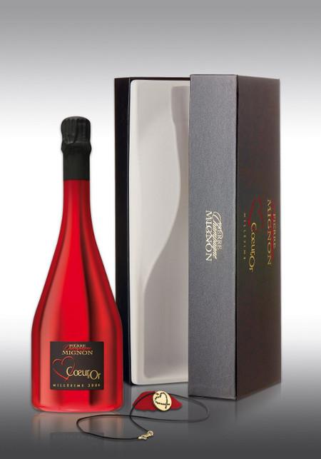 Si quieres que tu Valentina enrojezca de placer, sorpréndela con champán Pierre Mignon