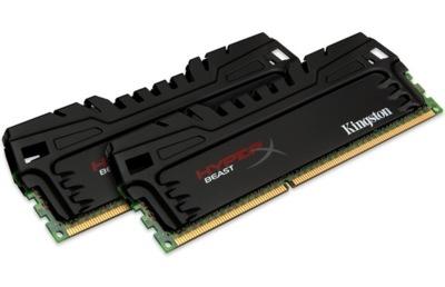 Kingston HyperX Beast, kits de hasta 64 GB de memoria para tu ordenador