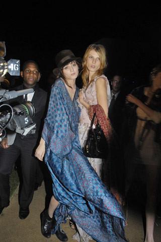 El look de Irina Lazareanu en la fiesta de Dior