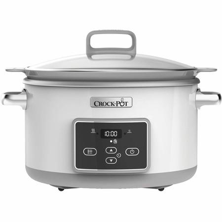 La olla de cocción lenta  Crock-Pot DuraCeramic CSC026X está rebajada a 90,08 euros durante el Día sin IVA de MediaMarkt