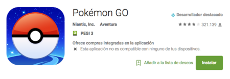 Pokémon Go Google Play