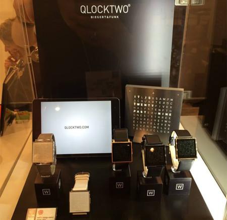 QLOCKTWO W el nuevo reloj de pulsera minimalista
