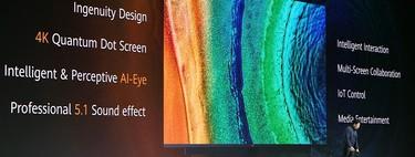 Huawei también quiere vender televisores: su primer modelo será un 4K con soporte para HDR