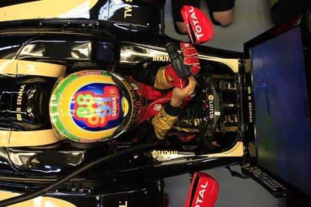 GP de Corea F1 2011: Bruno Senna rinde homenaje al tricampeonato de su tío