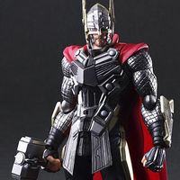 ¿Cómo sería Thor de Marvel diseñado por Tetsuya Nomura? Aquí lo tienes en una pedazo de figura de 135 dólares